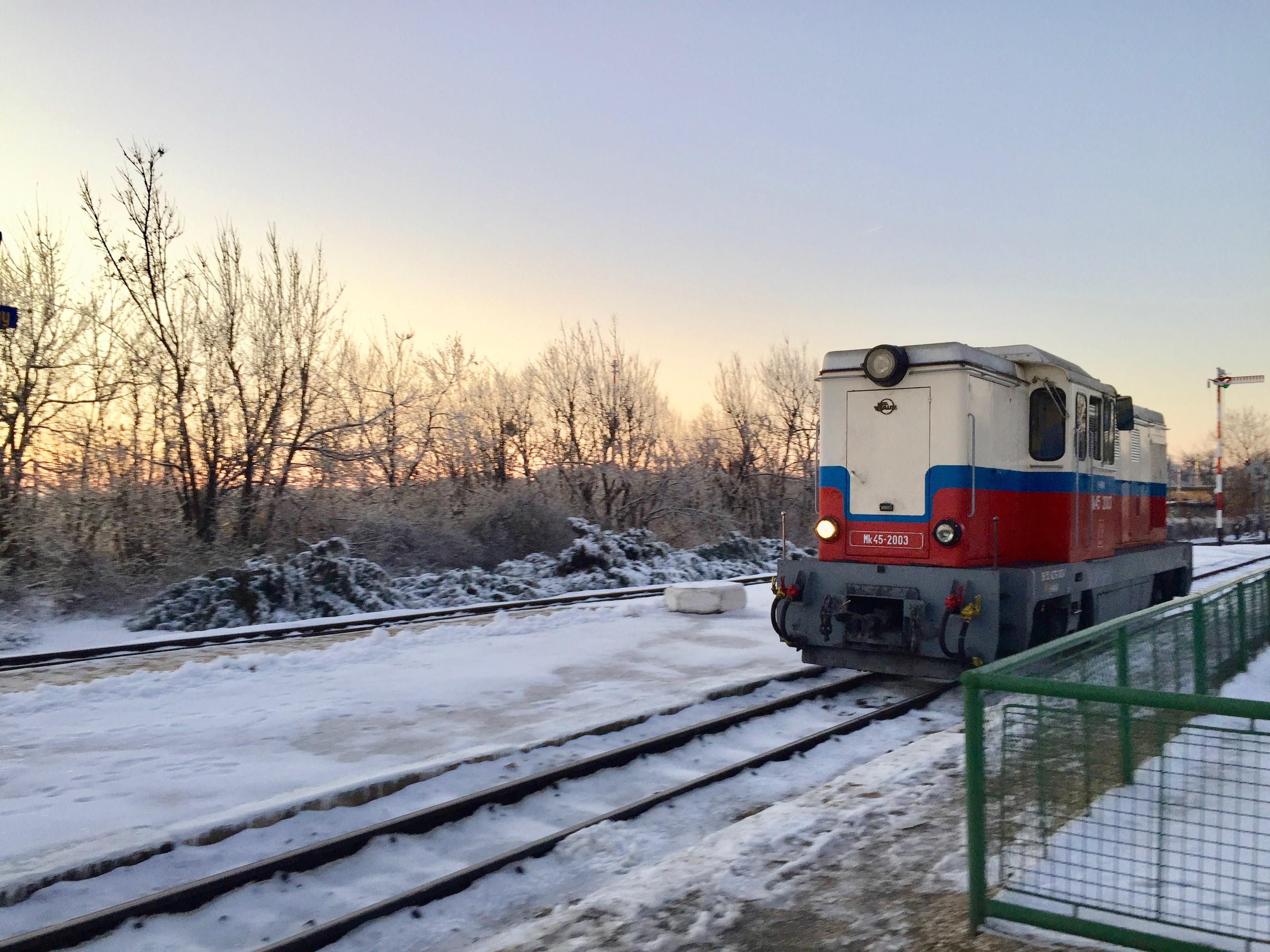 budapest train